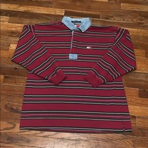Vintage Tommy Hilfiger polo rugby shirt